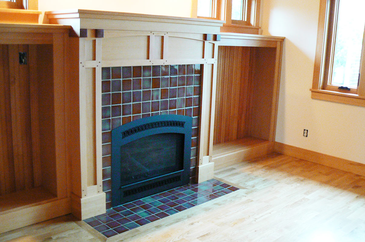 Rookwood Fireplace Ceramic Tile